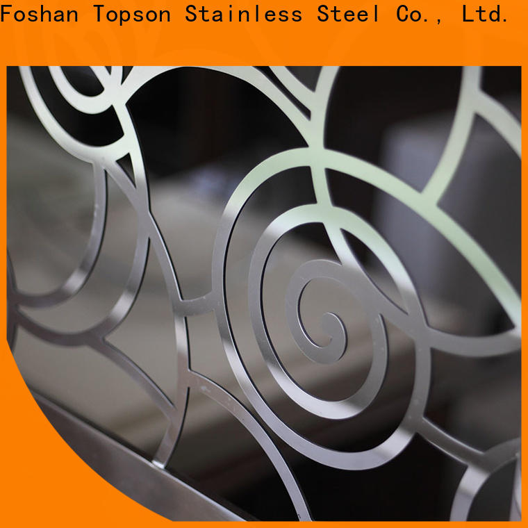 Topson popular stainless steel cable railing systems Suppliers for mall