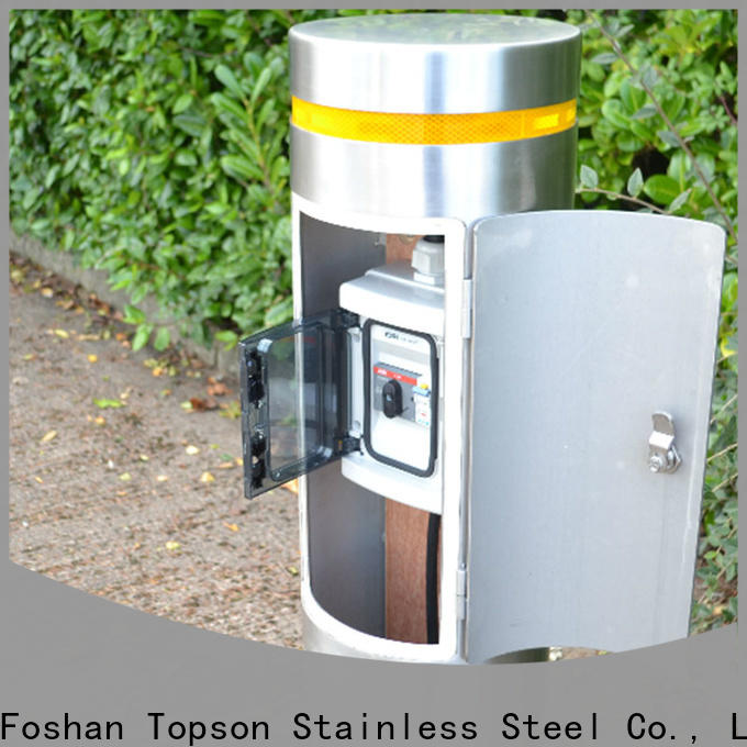 Topson Custom stainless steel bollards suppliers for business for office
