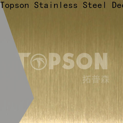 Topson High-quality stainless steel decorative plate China for handrail