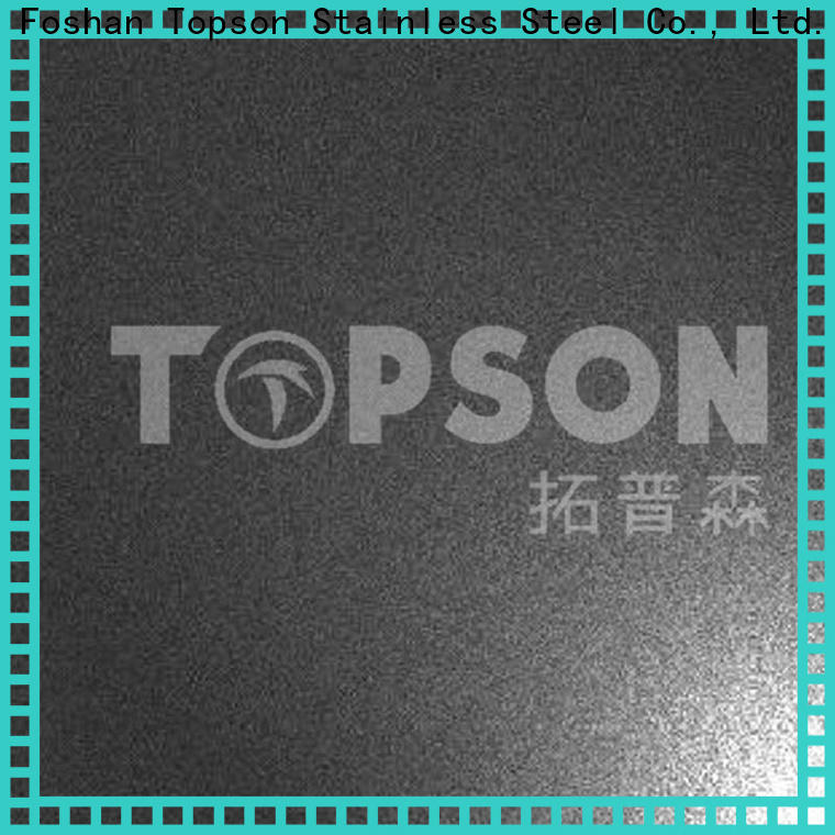 Topson colorful stainless steel sheet stockists company for vanity cabinet decoration
