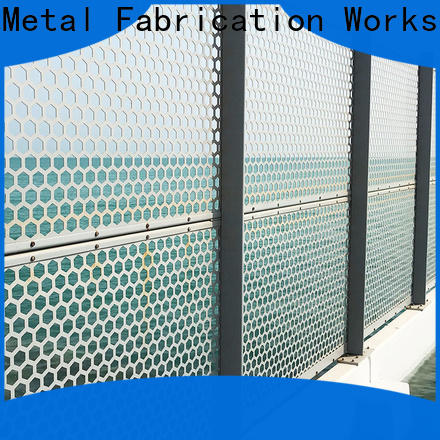 Topson elegant perforated metal screens suppliers export for exterior decoration