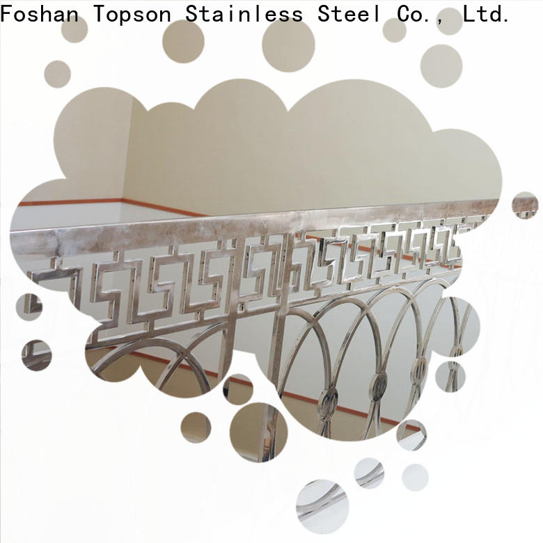Topson railingstainless stainless steel deck railing systems company for office