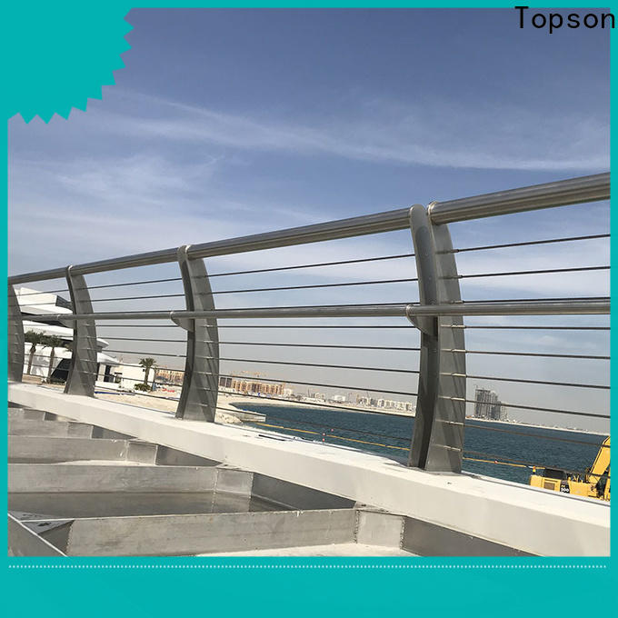 stainless porch railing & standard grating thickness