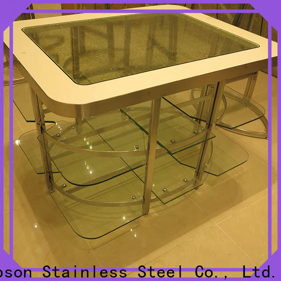 Topson high-quality metal top outdoor table factory for building facades