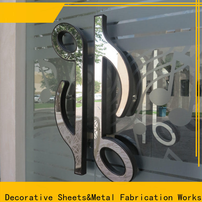 custom glass services & steel outer door