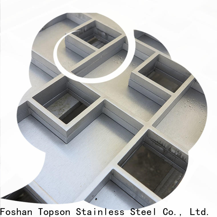 Topson steel shower slot drain stainless steel factory for office