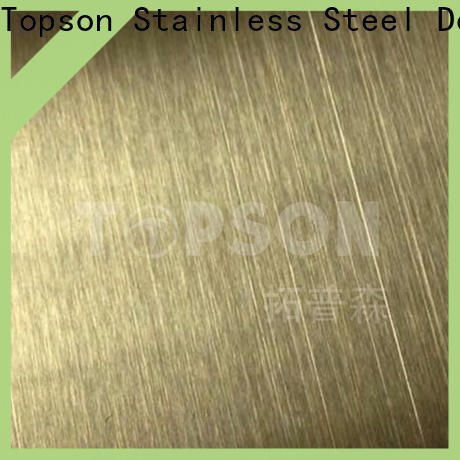 High-quality black stainless sheet vibration company for furniture