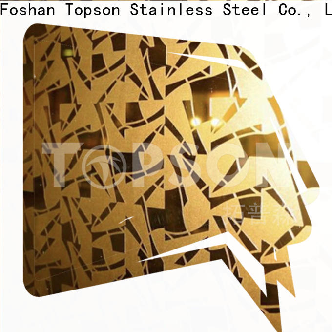 good-looking decorative stainless steel sheet metal raw for vanity cabinet decoration
