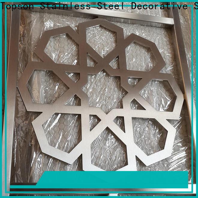 Topson Custom mashrabiya pattern cad Suppliers for protection