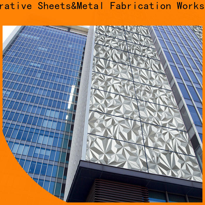Topson good-looking sheet cladding systems company for lift