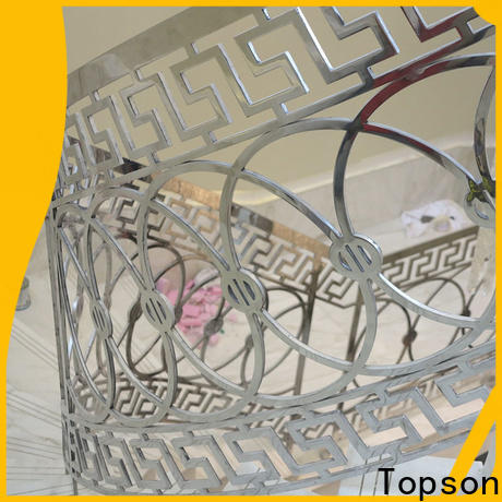 Topson stainless cable stair railing system Supply for hotel