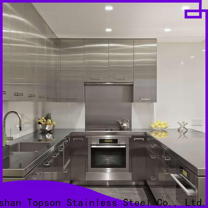 Topson marblestainless stainless steel cabinet suppliers Suppliers for outdoor wall cladding