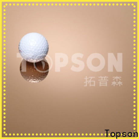 Topson hairline black stainless steel sheet metal company for furniture