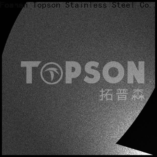 Topson New mirror finish stainless steel Suppliers for partition screens
