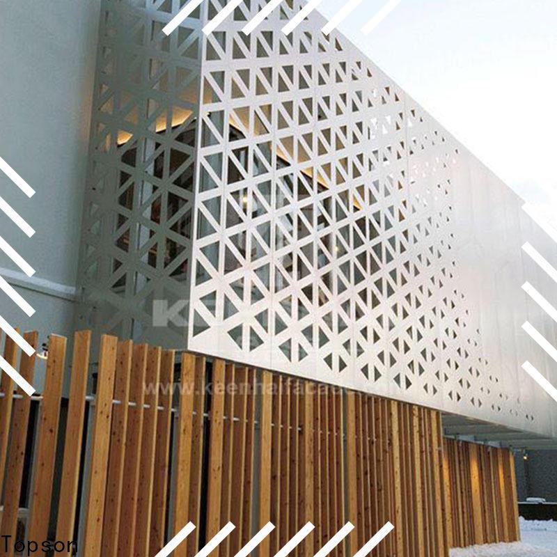 Topson chain mashrabiya screens for sale Supply for building faced
