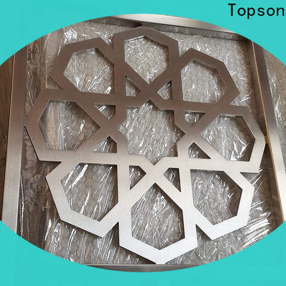 Topson special design mashrabiya screens for sale export for protection