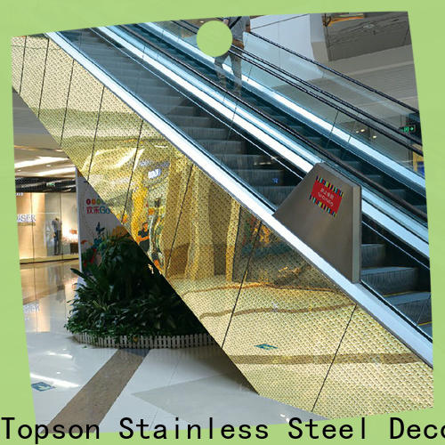 Topson stainless colorbond clad homes in china for shopping mall
