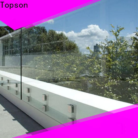 Topson railing mirror fabrication companies from wholesale for TV wall
