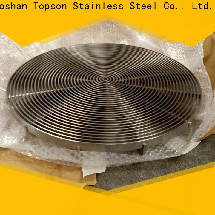 Topson Best welded steel grating Supply for apartment