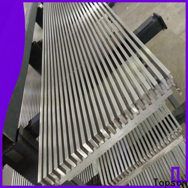 Topson perforated galvanized steel bar grating for business for office