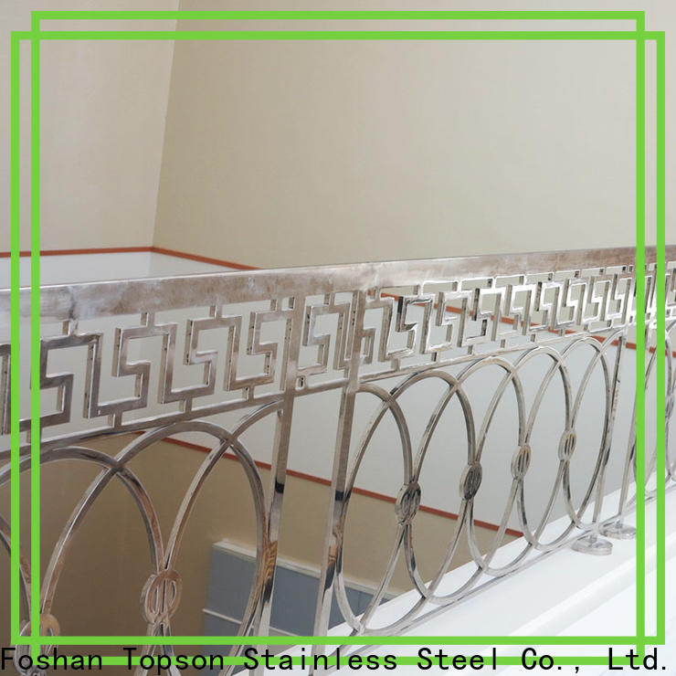 Topson Latest stainless steel handrail accessories Suppliers for hotel
