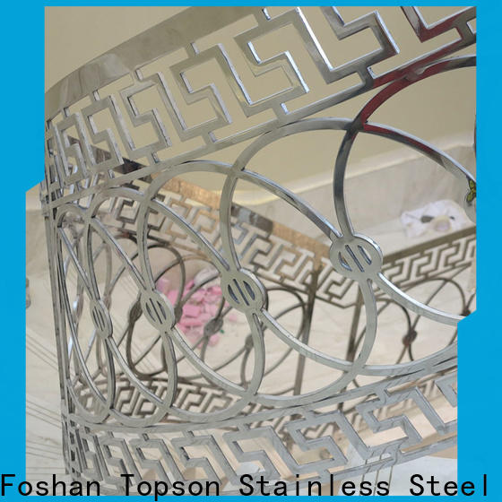 Topson stainless stainless railing hardware factory for building