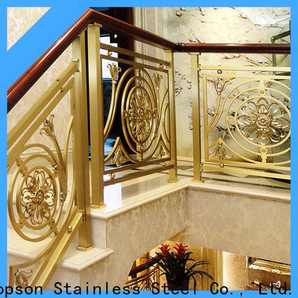 stable stainless steel staircase railing bridge manufacturers for room
