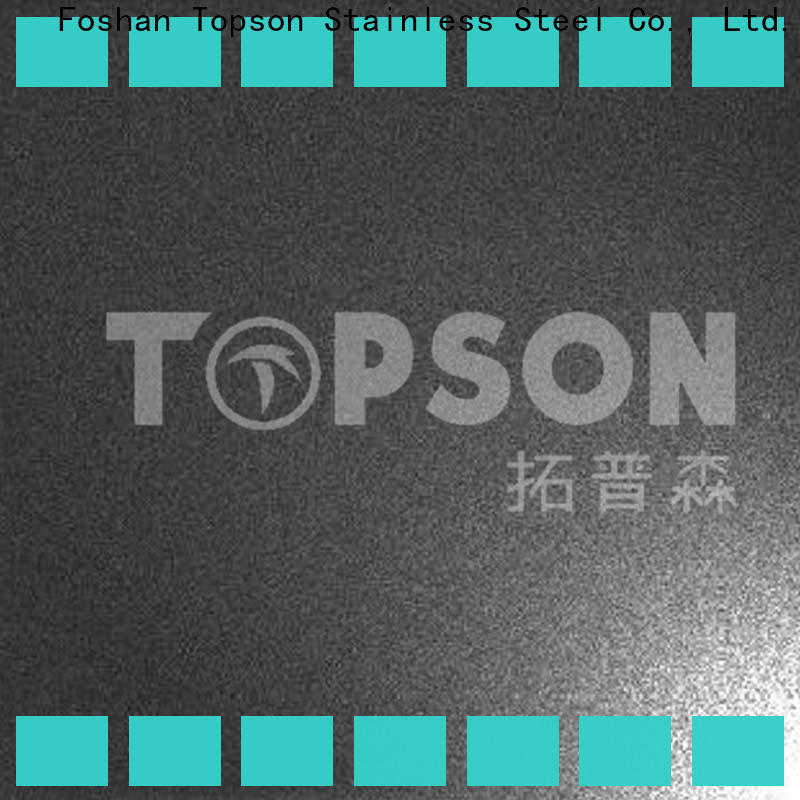 Topson Custom etched design stainless steel sheet Suppliers for kitchen