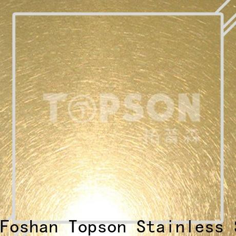 High-quality stainless sheet supplier raw factory for interior wall decoration