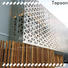 Topson Wholesale outdoor metal screen panels Supply for protection