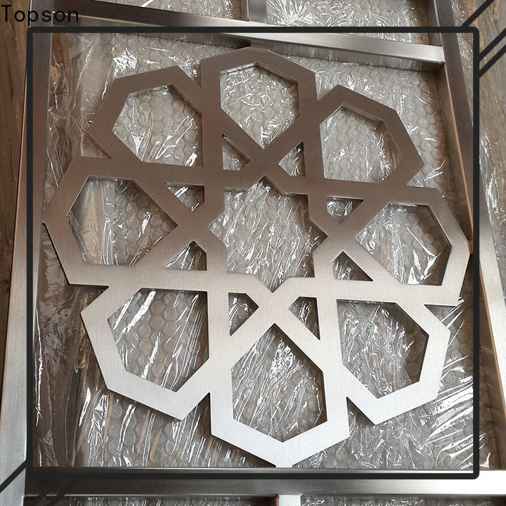 Topson elegant fretwork panels suppliers Supply for building faced