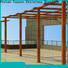 high-density metal pergola prices fixed China for park