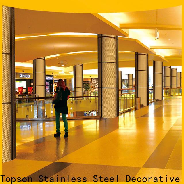 professional exterior metal cladding jamb factory price for lift