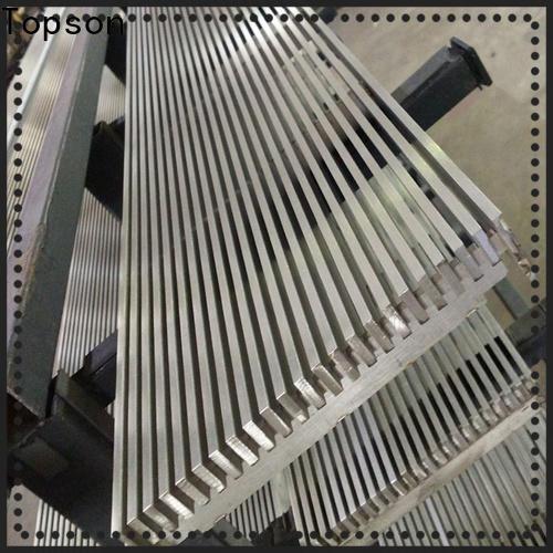stainless steel cabinet door pulls & flat bar grating