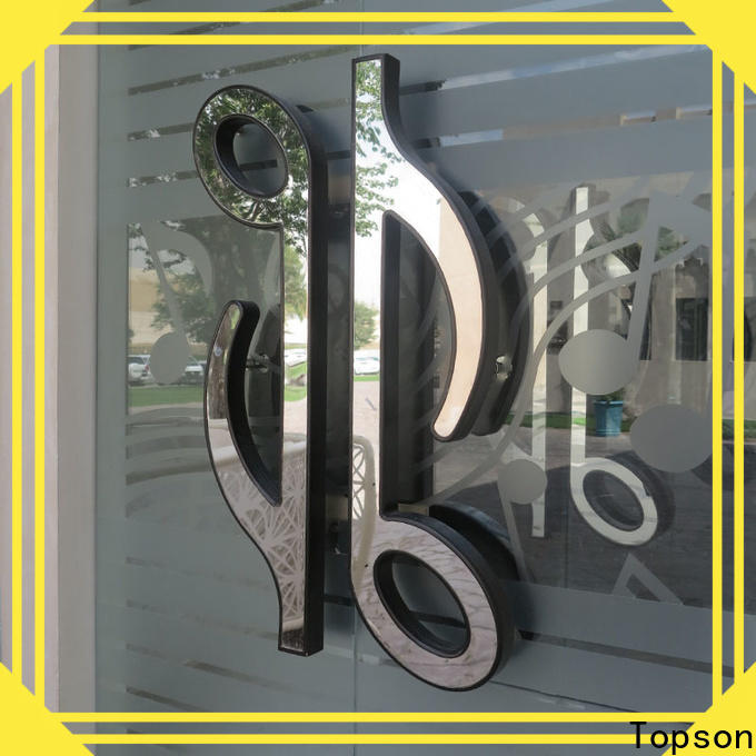 advanced stainless steel door protection plates cladding Supply for decoration