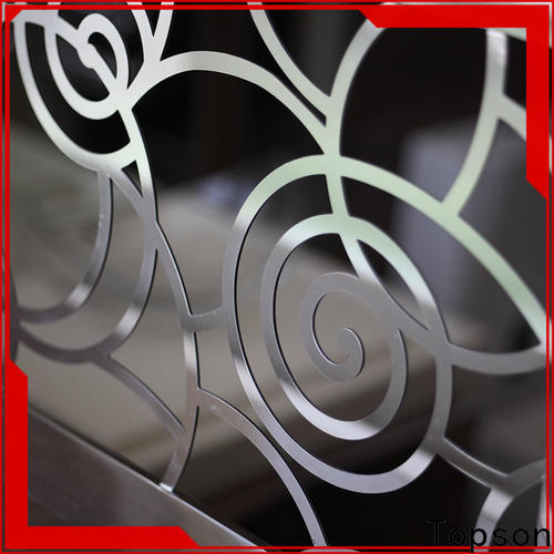 Topson elegant stainless steel wire cable railing manufacturers for apartment