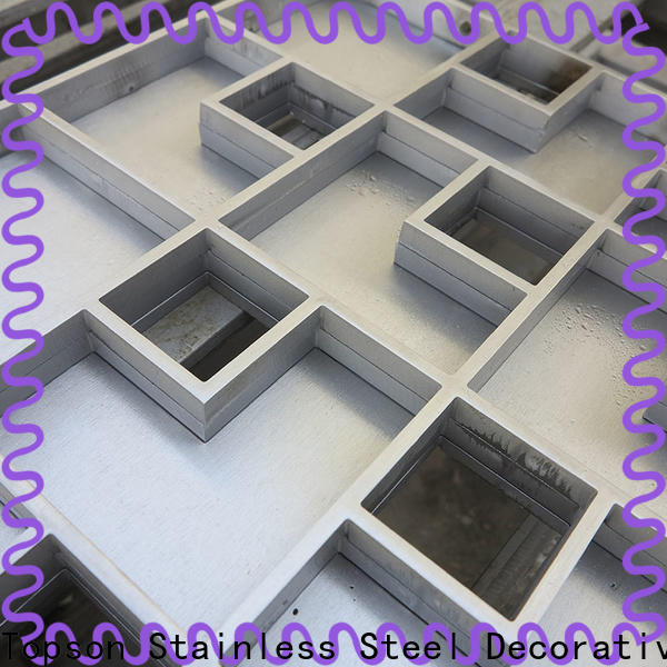 Topson affordable price metal mesh drain cover Supply for office