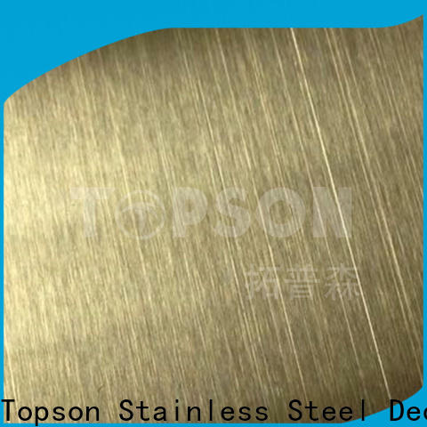 Topson New stainless steel sheets for sale China for furniture