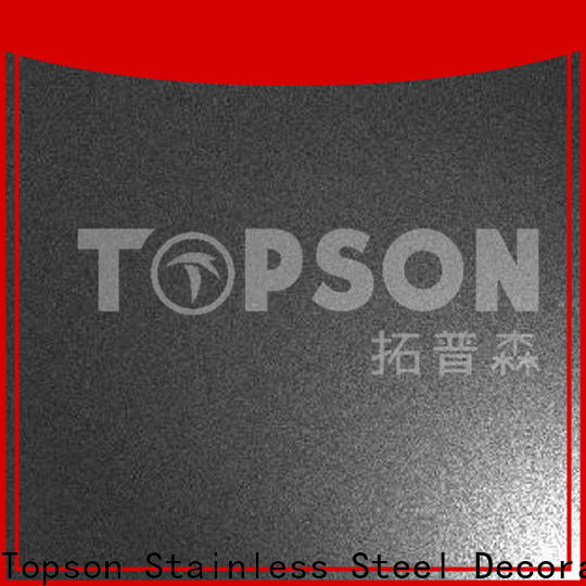 New stainless steel decorative panels vibration factory for elevator for escalator decoration