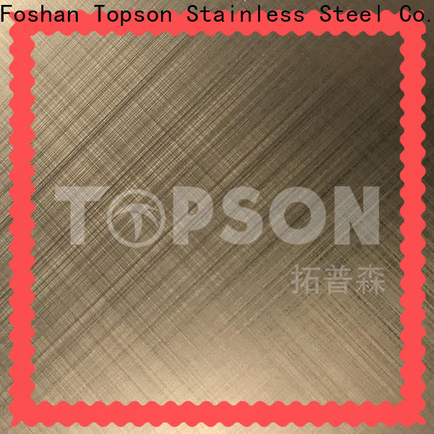 good-looking stainless steel etching sheet stainless Suppliers for interior wall decoration
