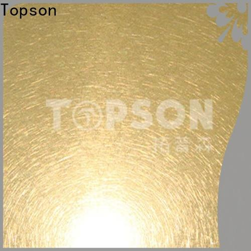 Custom stainless sheet metal for sale bead company for interior wall decoration