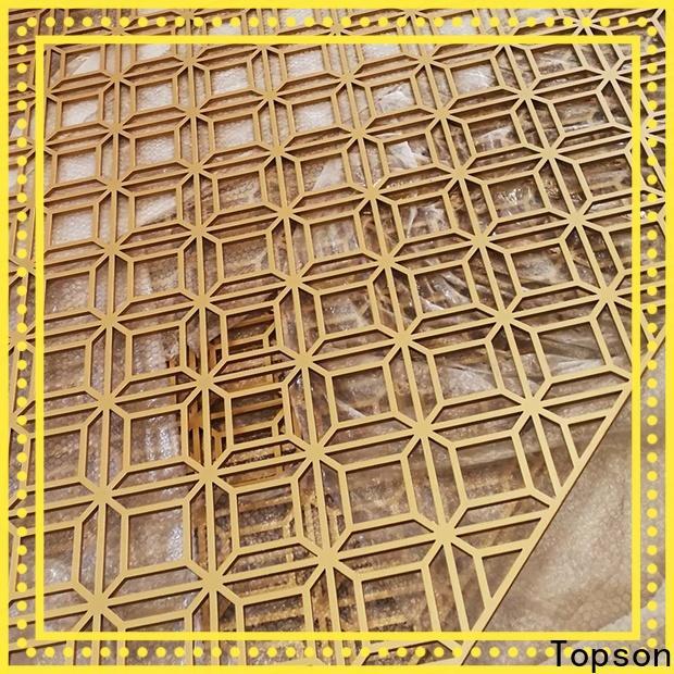 Topson panels metal mashrabiya Suppliers for protection