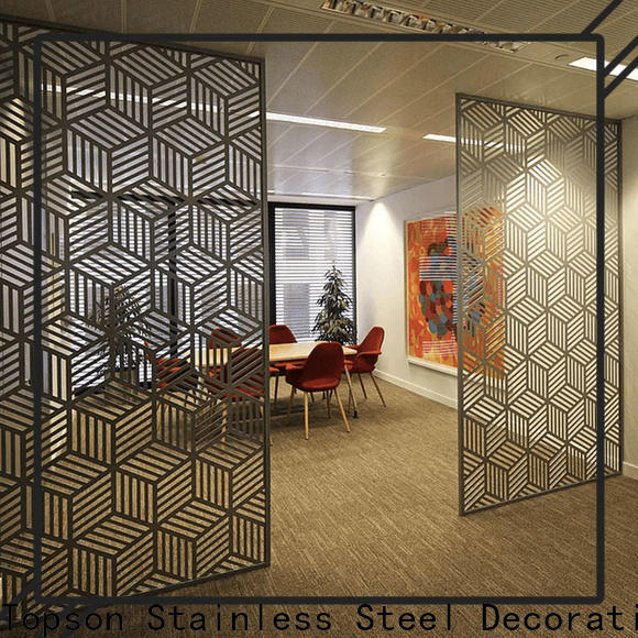 special design decorative outdoor metal screen panels stainless company for curtail wall