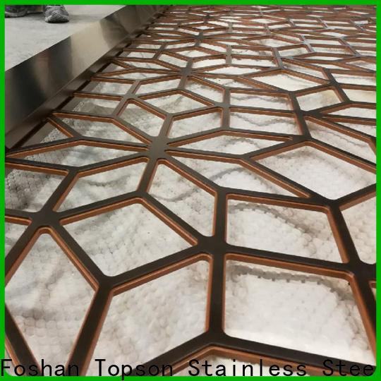 Topson durable metal mashrabiya in china for protection