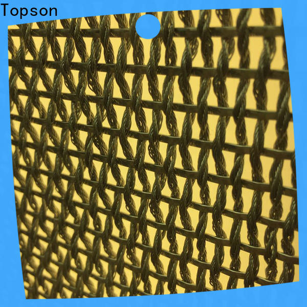 Topson perforated aluminium decorative screens for building faced