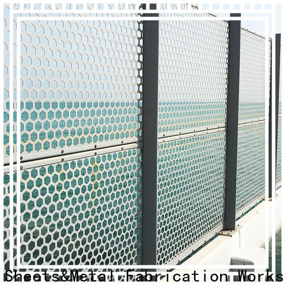 Topson New metal screen panels manufacturers for curtail wall