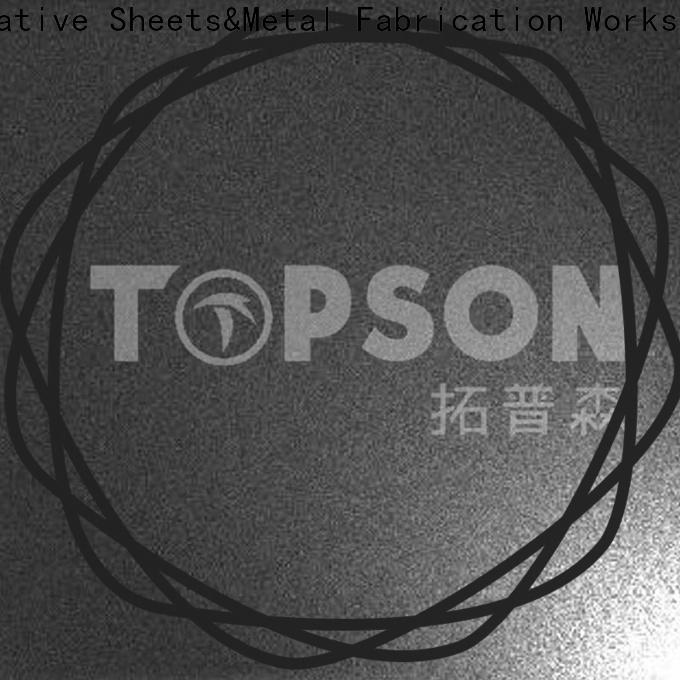 Topson luxurious decorative steel sheet metal for handrail