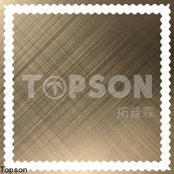 Topson color decor stainless steel for interior wall decoration