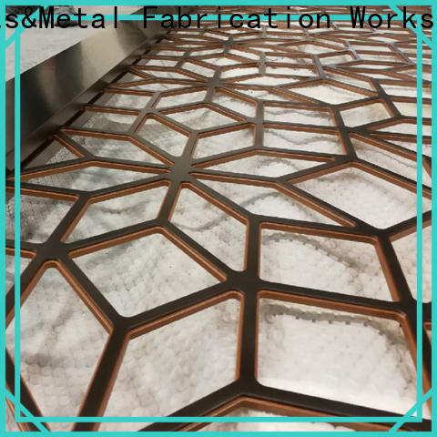 New decorative metal screen panels mashrabiya company for landscape architecture