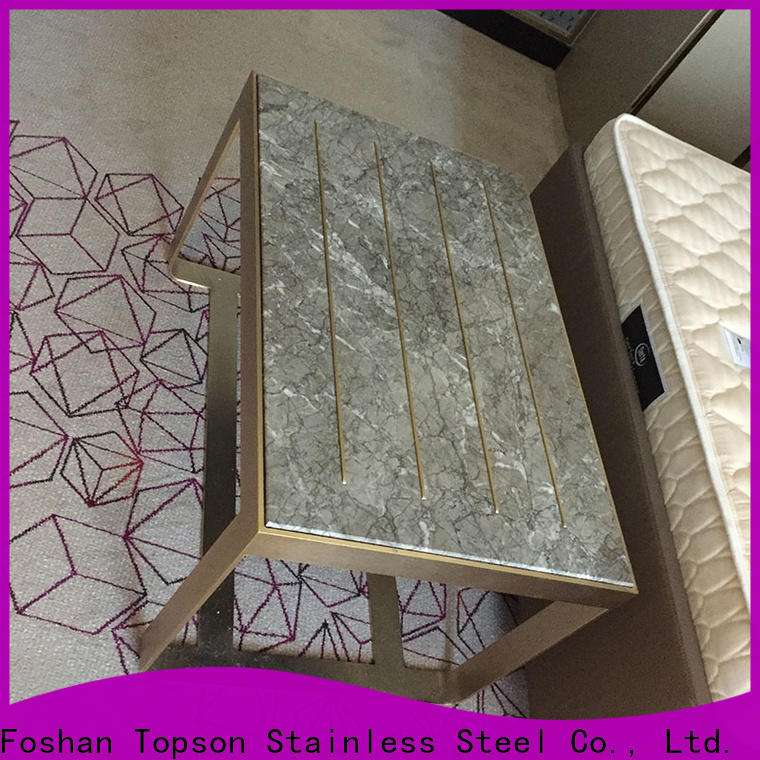 Topson Latest metal furniture makers company for outdoor wall cladding